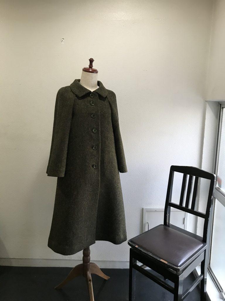 ハリスツィードのコート